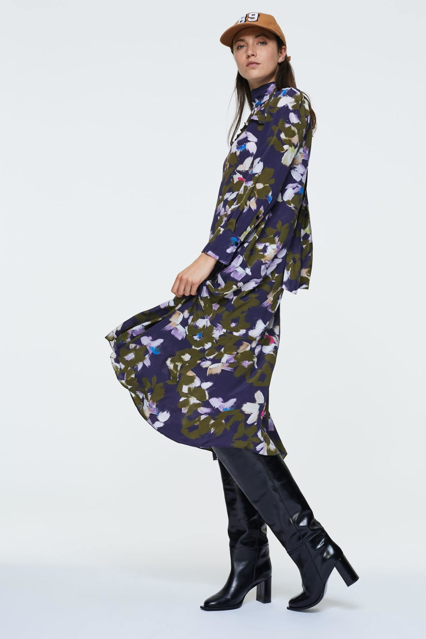 Floral graphics dress Dorothee schumacher-1