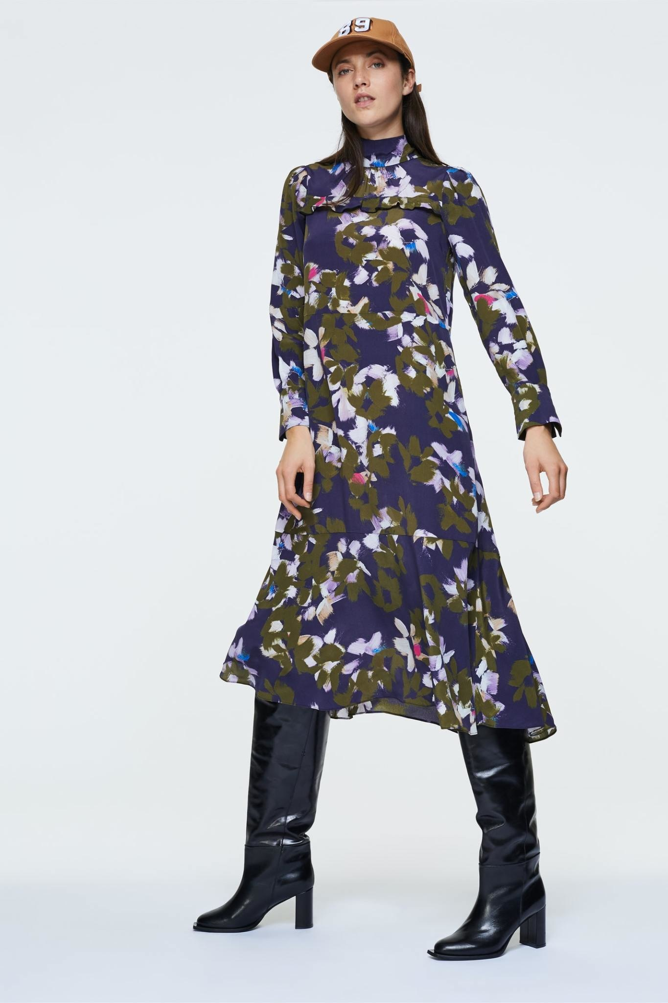 Floral graphics dress Dorothee schumacher-3