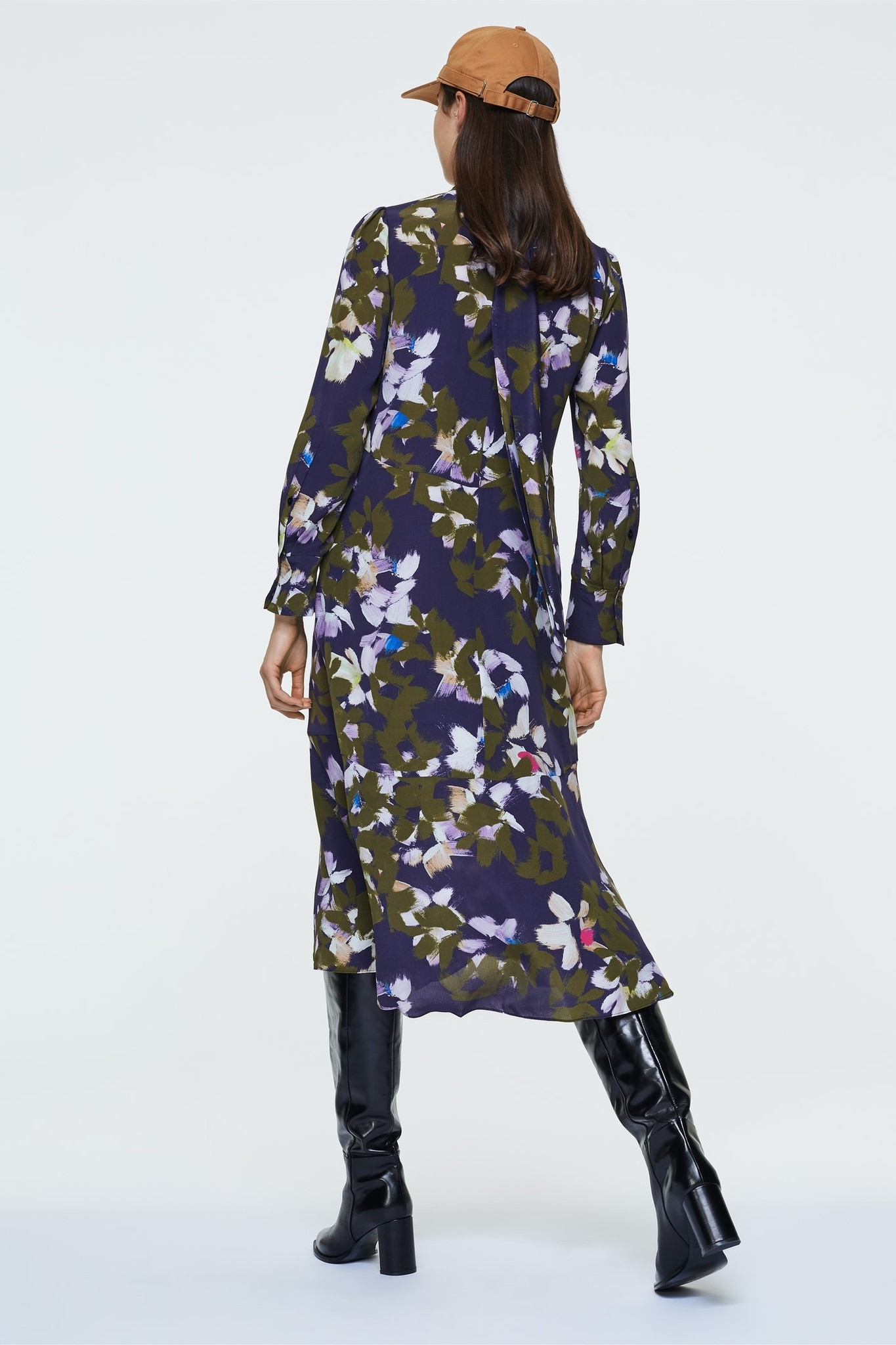 Floral graphics dress Dorothee schumacher-4