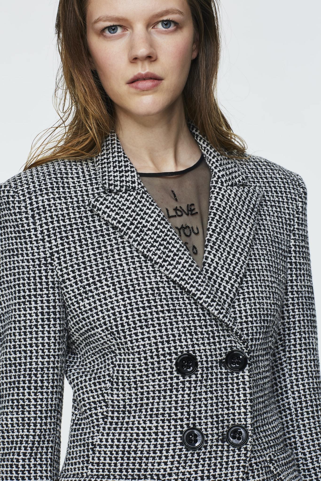 Checked comfort blazer Dorothee Schumacher-4