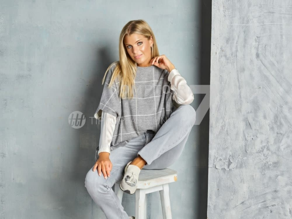 Knitted sweater Kash MA726-3