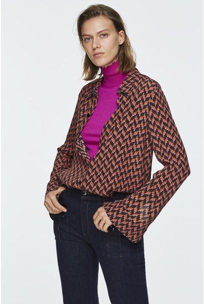 Graphic power blouse Dorothee Schumacher
