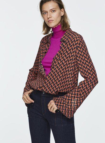Dorothee Schumacher Graphic power blouse Dorothee Schumacher