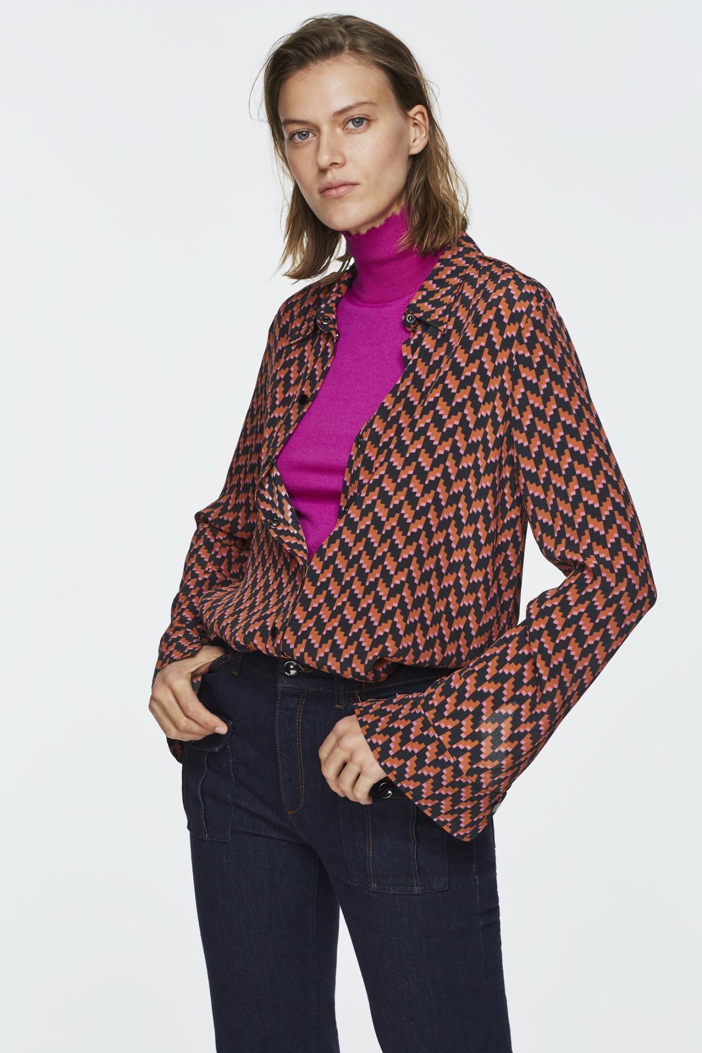 Graphic power blouse Dorothee Schumacher-1