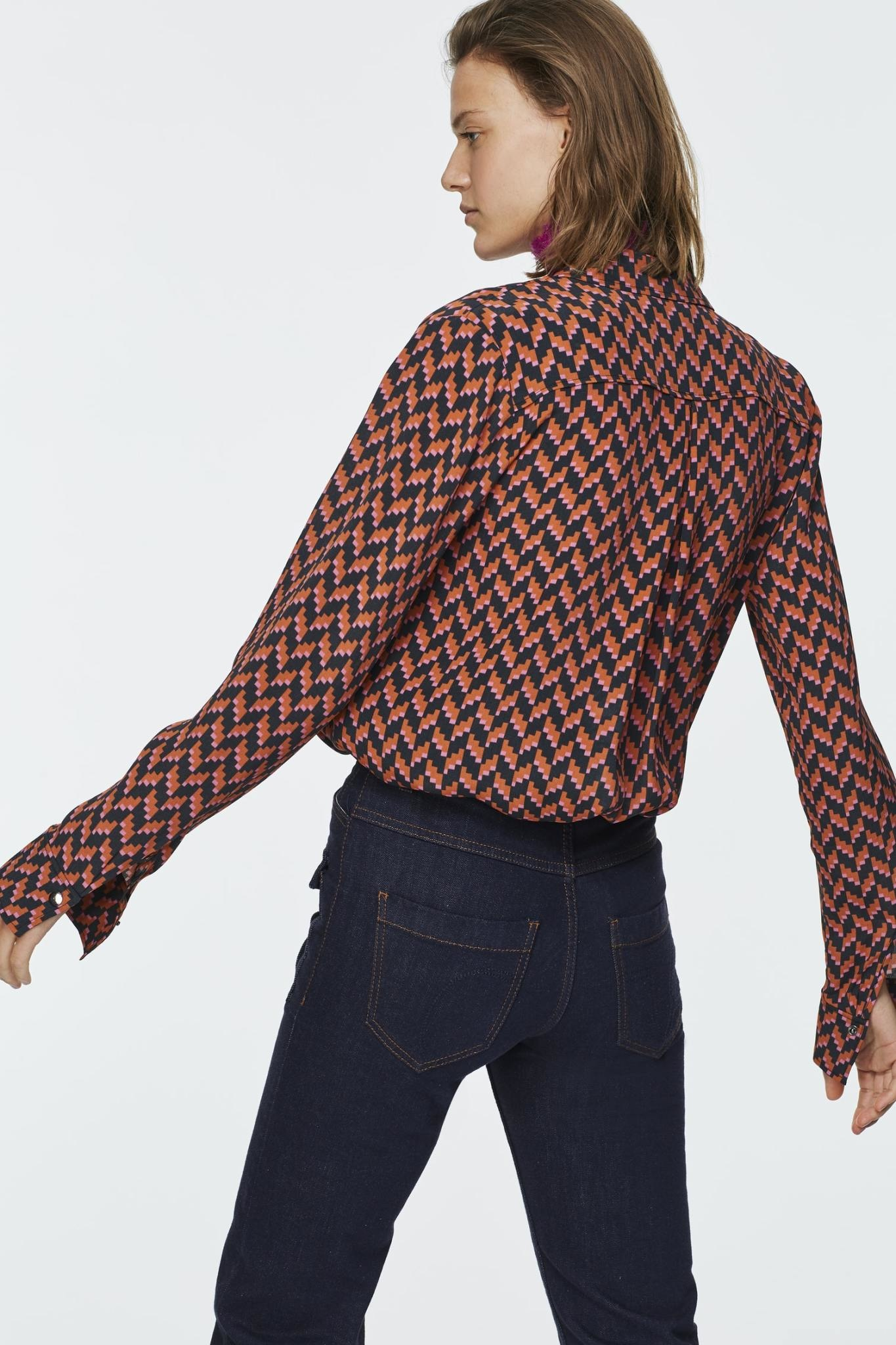 Graphic power blouse Dorothee Schumacher-4