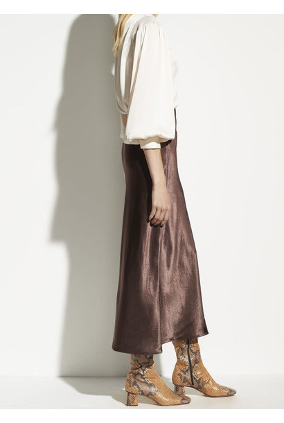 Side slit slip skirt Vince