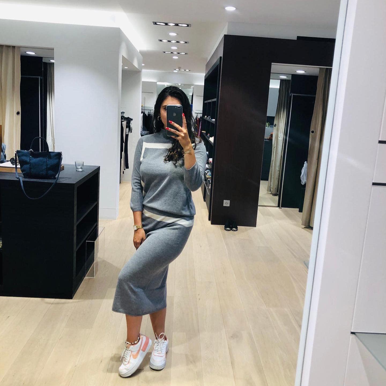 Knitted skirt Kash MA728-1