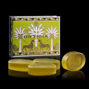 Ortigia Sicilia giftbox glycerine soap Lime 4x40 gr.-1