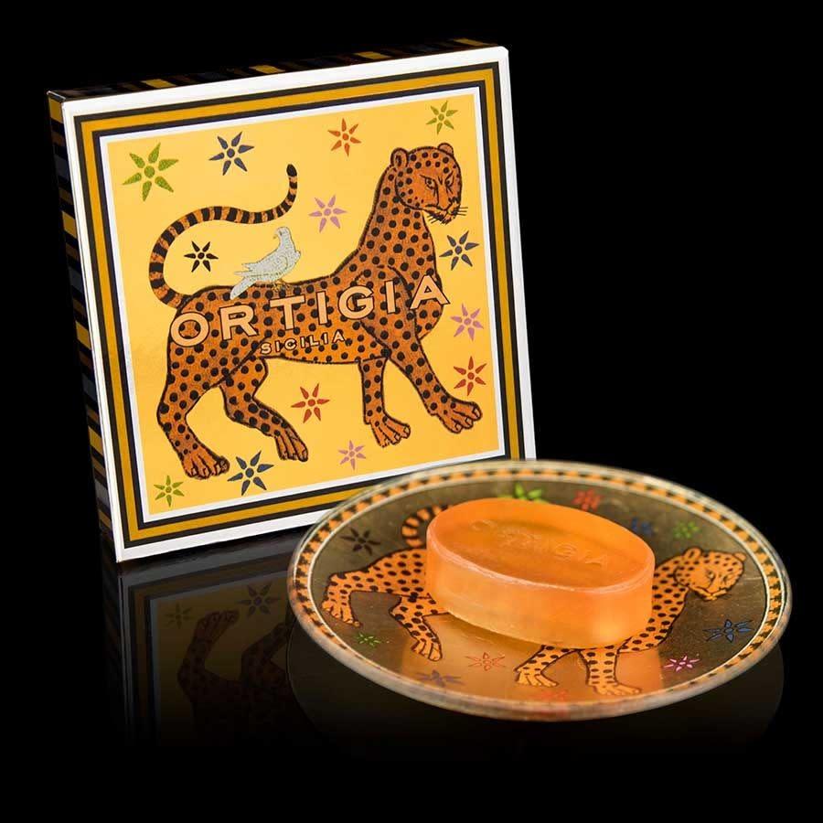 ortigia sicilia gattopardo glasplate & soap-1