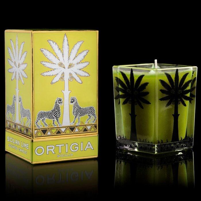 ortigia Sicilia scented candle Lime di Sicilia 170 gr.-1