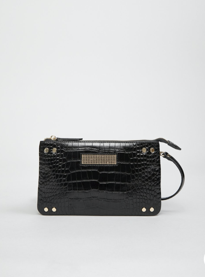 clio mini croco nappa black-1