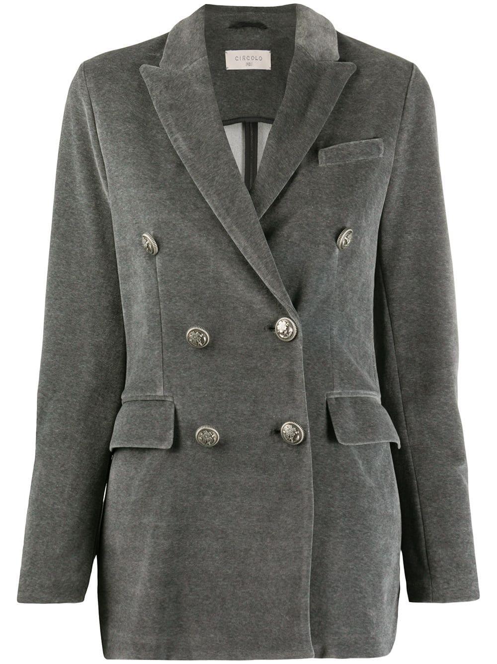 blazer velours circolo FD1656-1