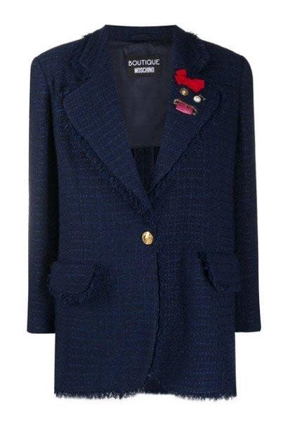 Tweed blazer Moschino