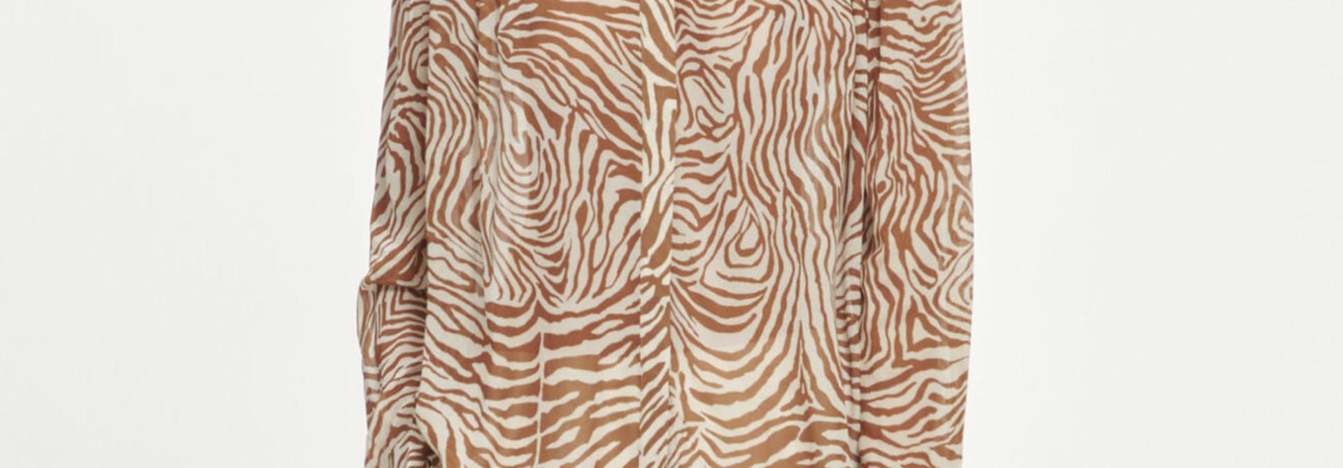 Elmy shirt AOP Samsoe Samsoe