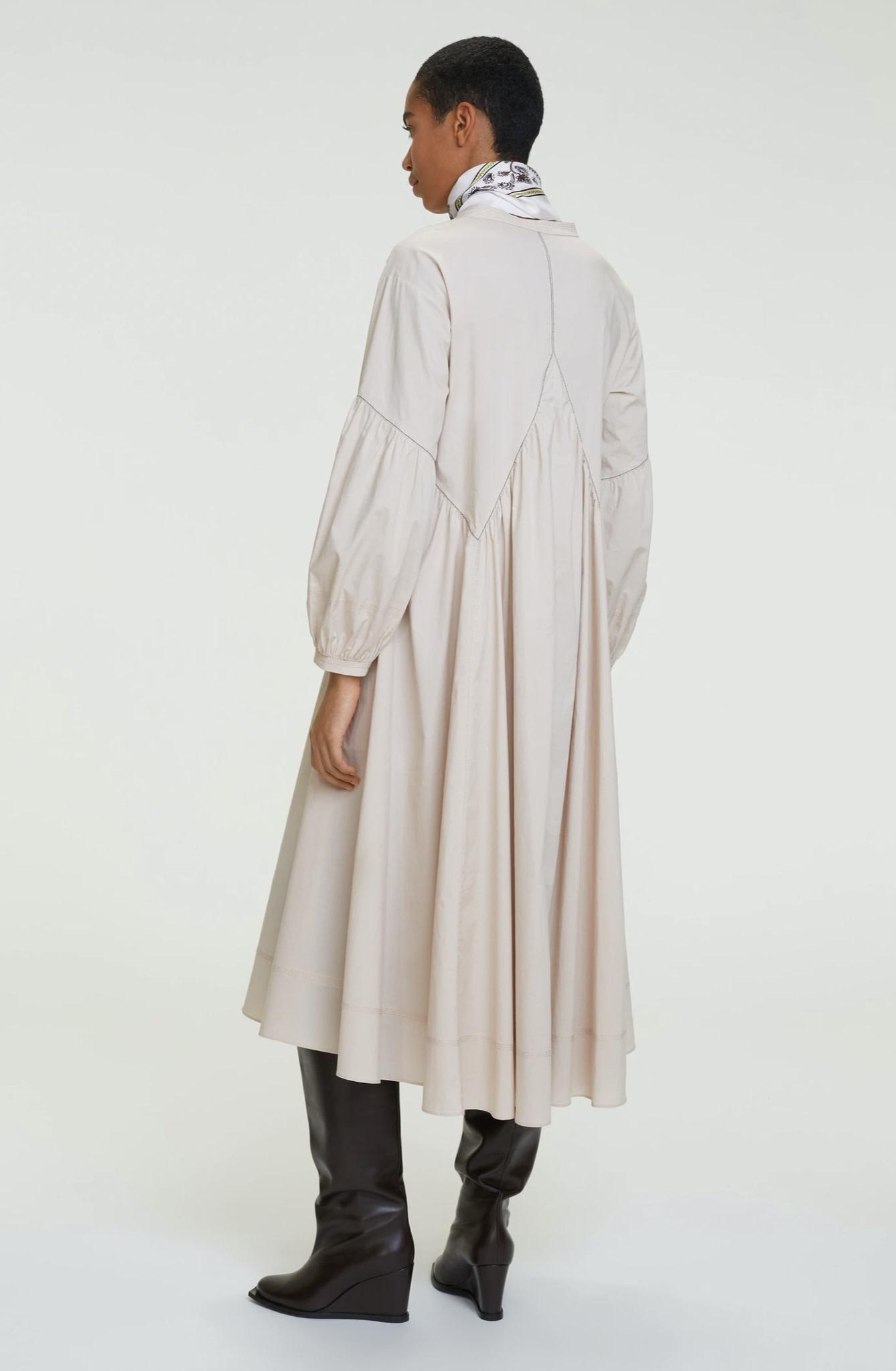 Popeline power dress dorothee schumacher-6