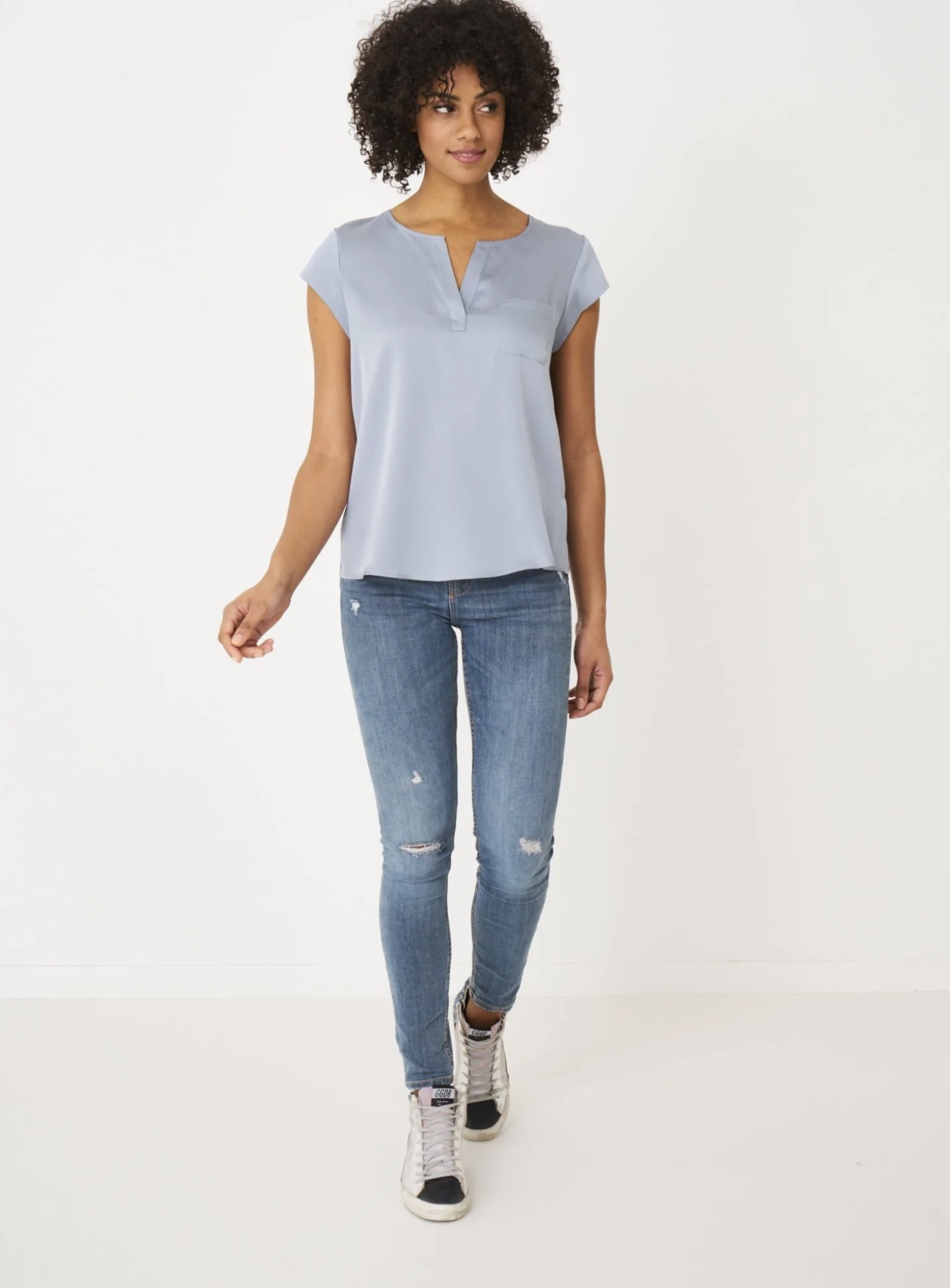 blouse repeat 600003-8