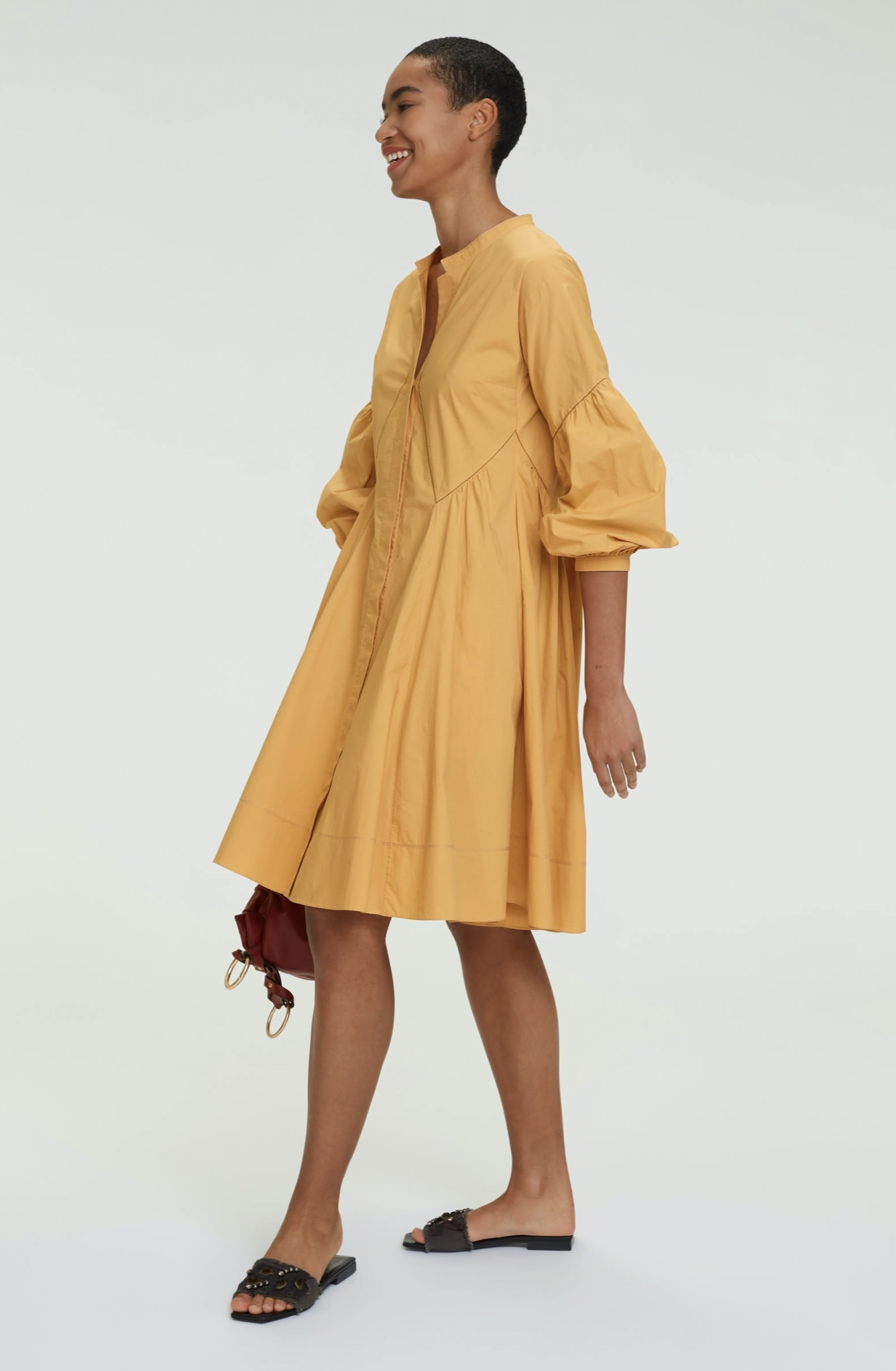 Popeline power dress Dorothee schumacher-4