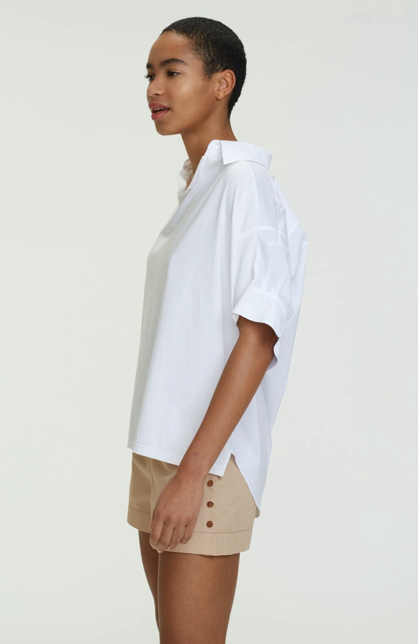 Cool contrast shirt blouse SS dorothee schumacher-2