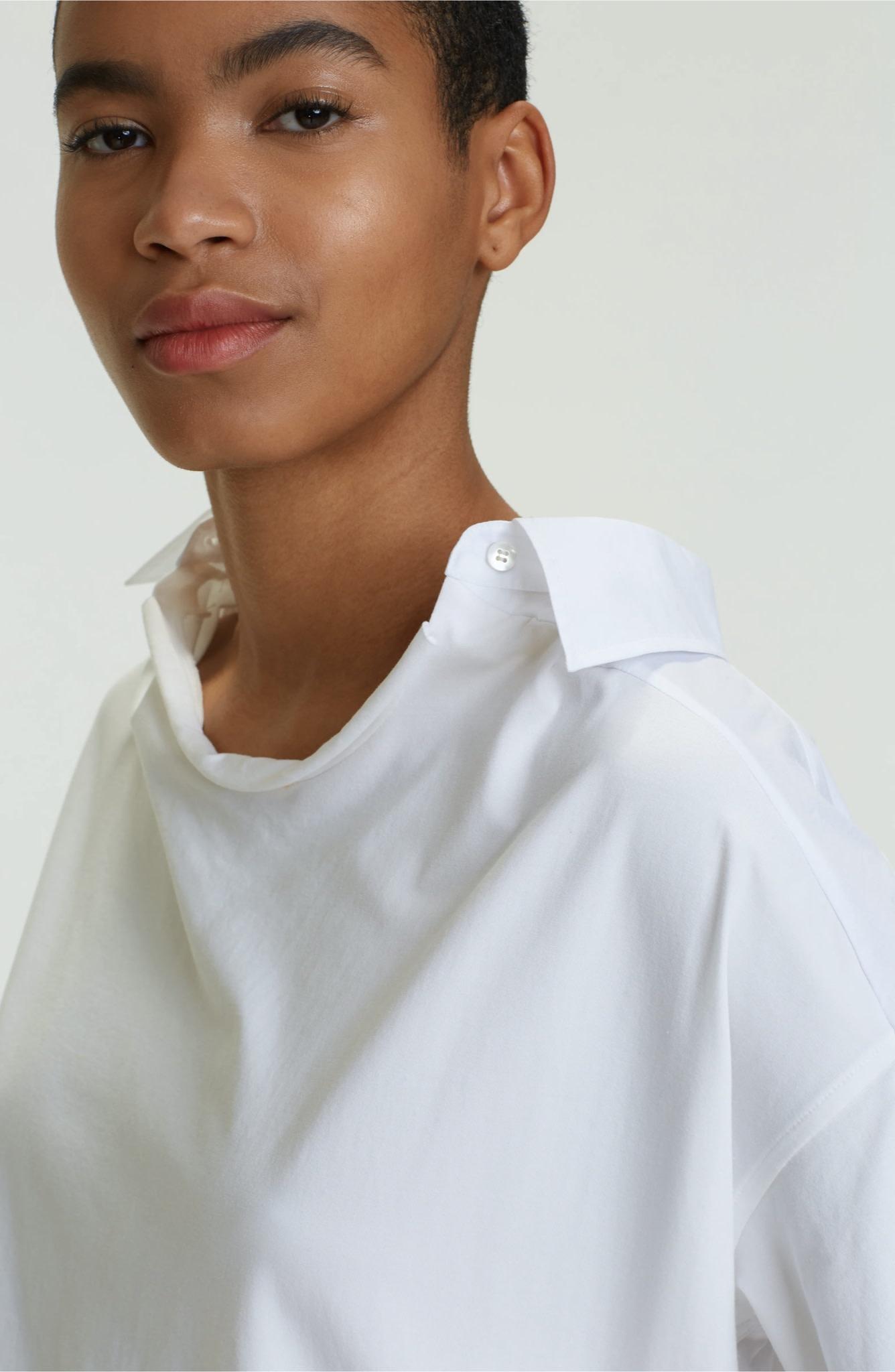 Cool contrast shirt blouse SS dorothee schumacher-5