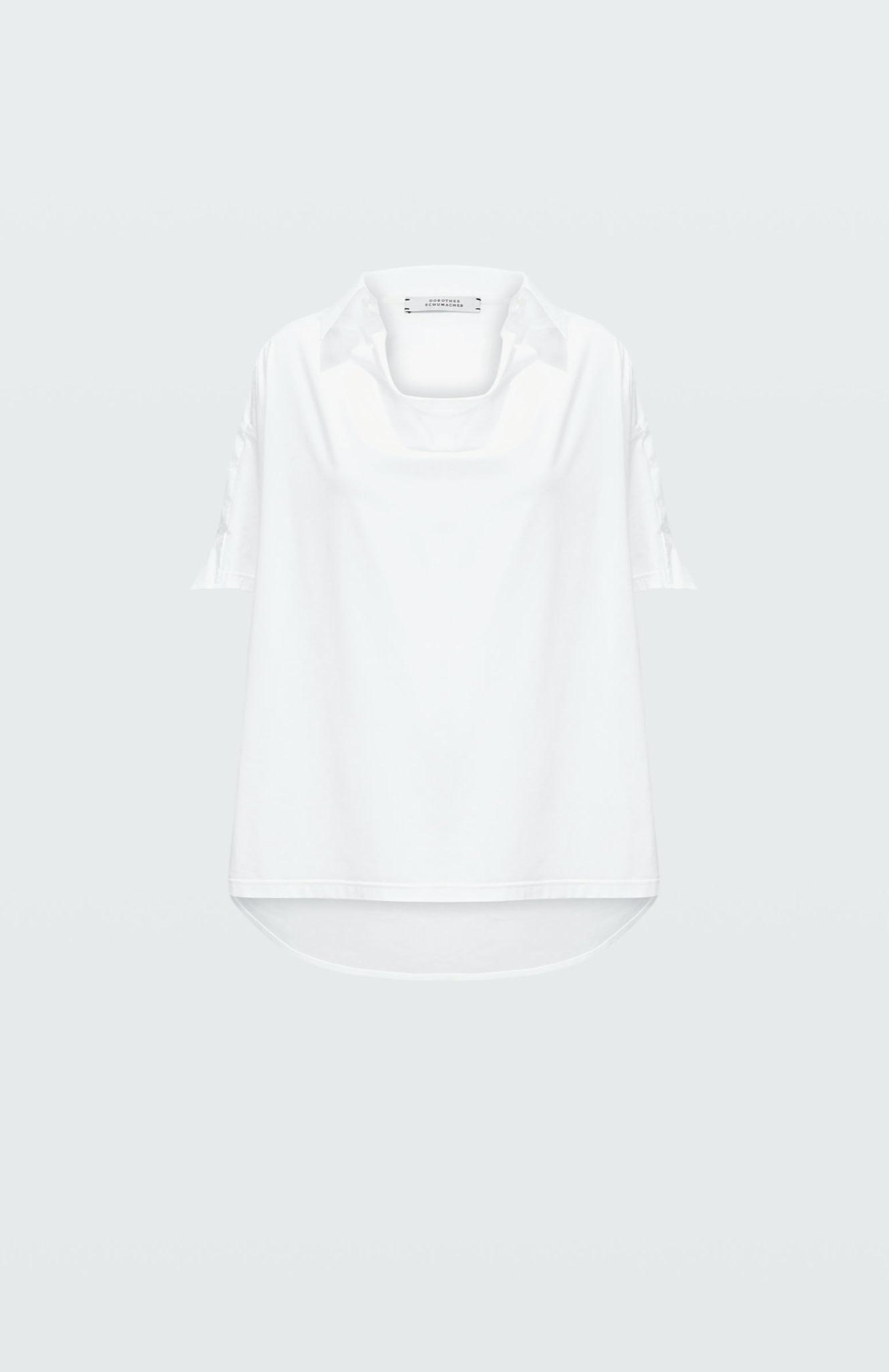 Cool contrast shirt blouse SS dorothee schumacher-6