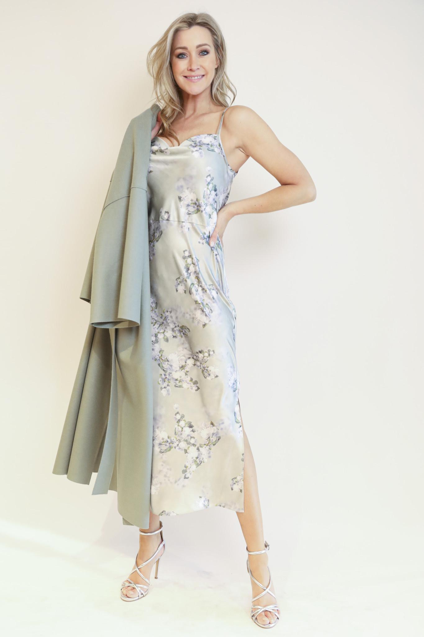 Hazy blossom cowl nk slip dress-1