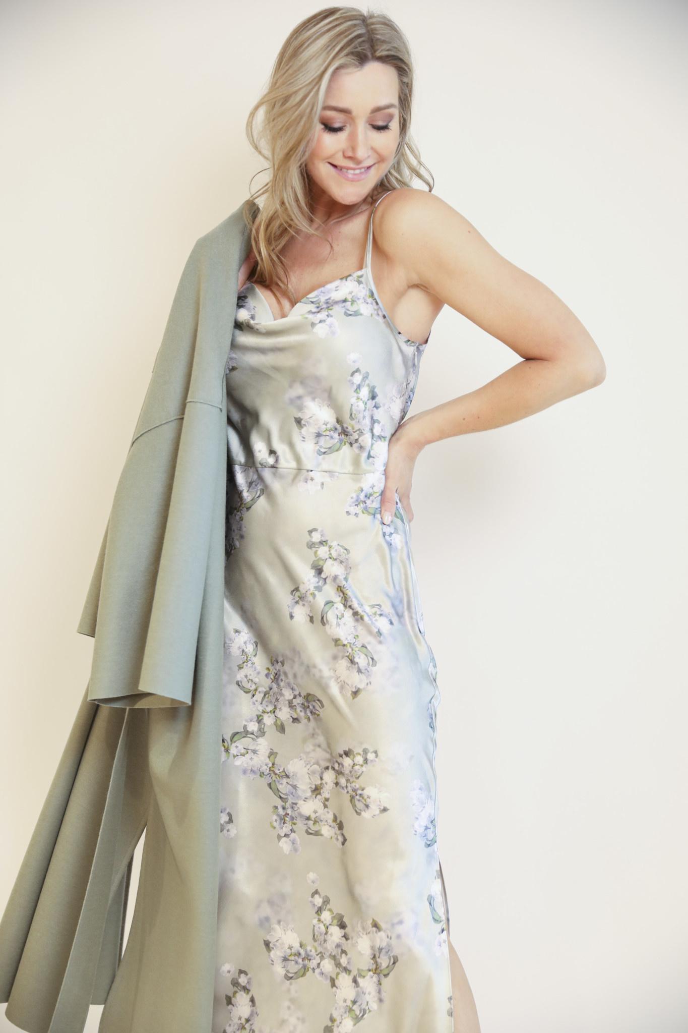 Hazy blossom cowl nk slip dress-2