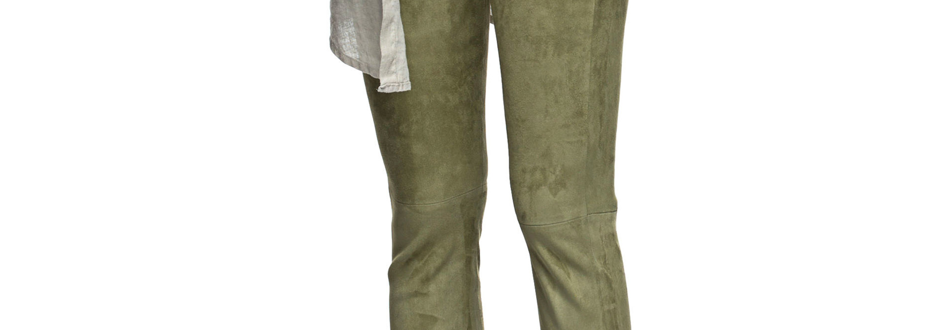 provence stretch suede pants Arma