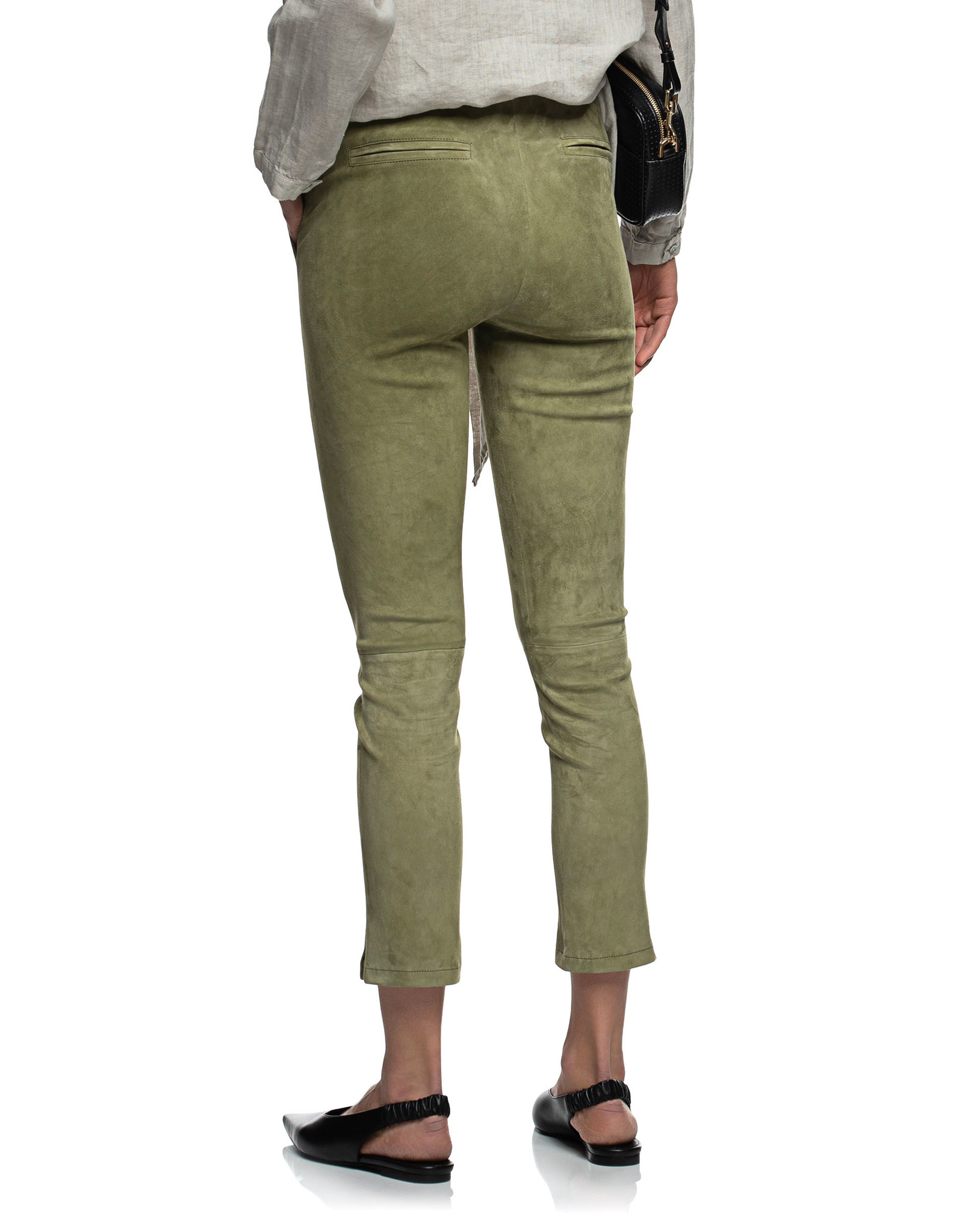 provence stretch suede pants Arma-2