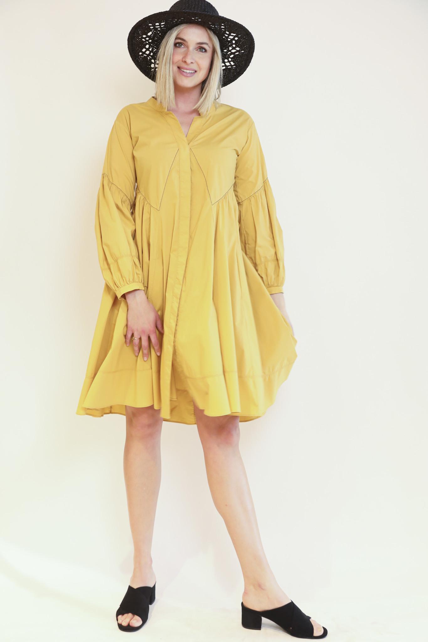 Popeline power dress Dorothee schumacher-2