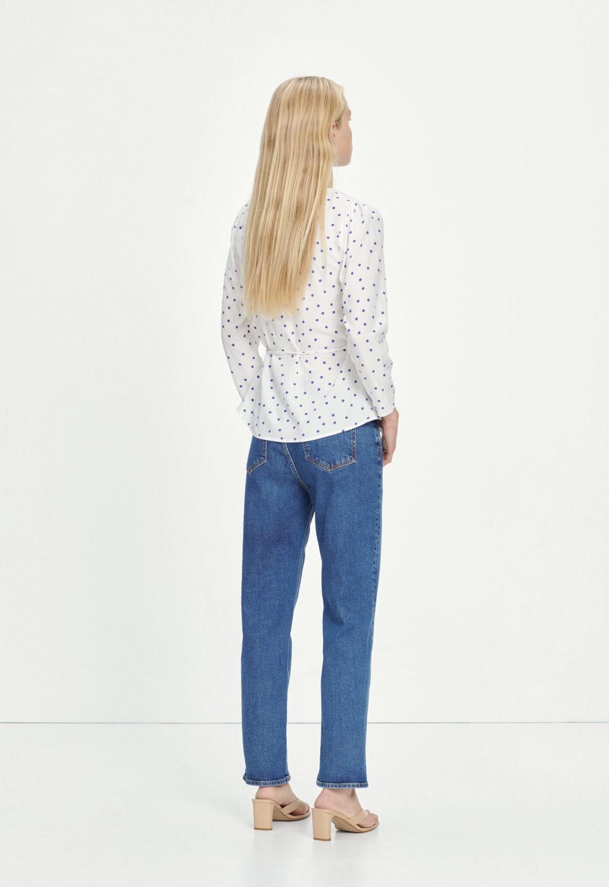 Britt wrap blouse Samsoe Samsoe-3