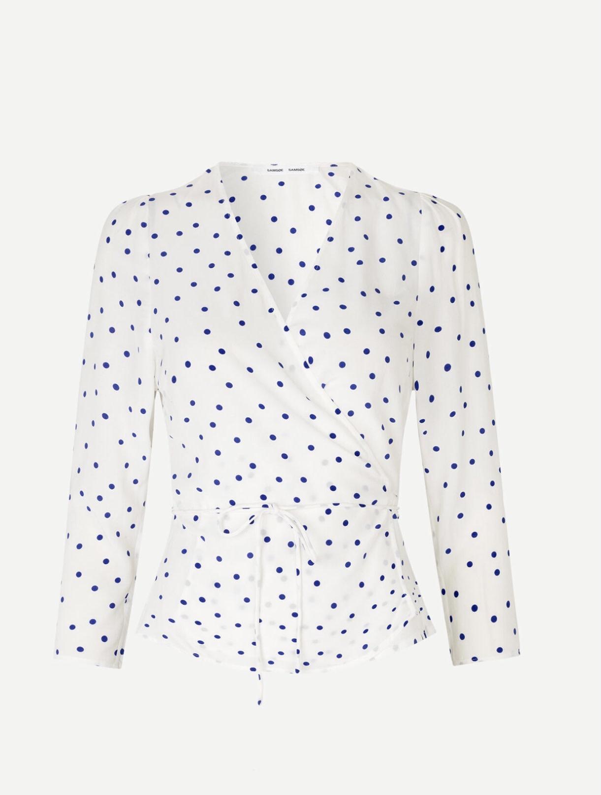 Britt wrap blouse Samsoe Samsoe-4