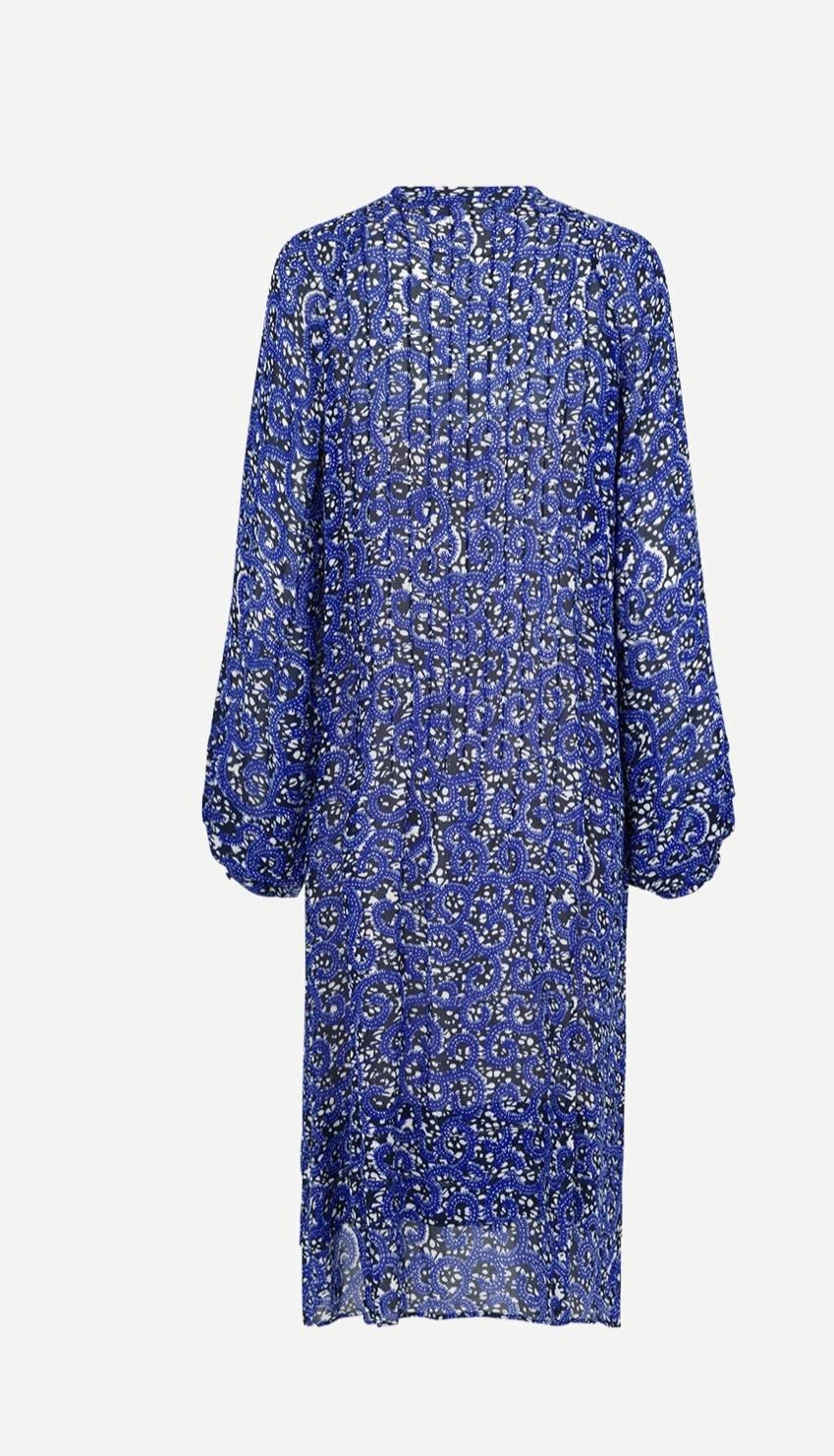 Elma Shirt dress aop Samsoe Samsoe-6