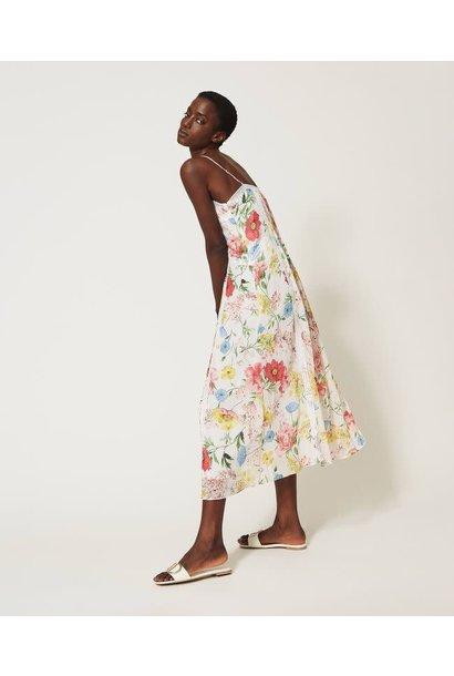 Garden flower dress Twin-Set
