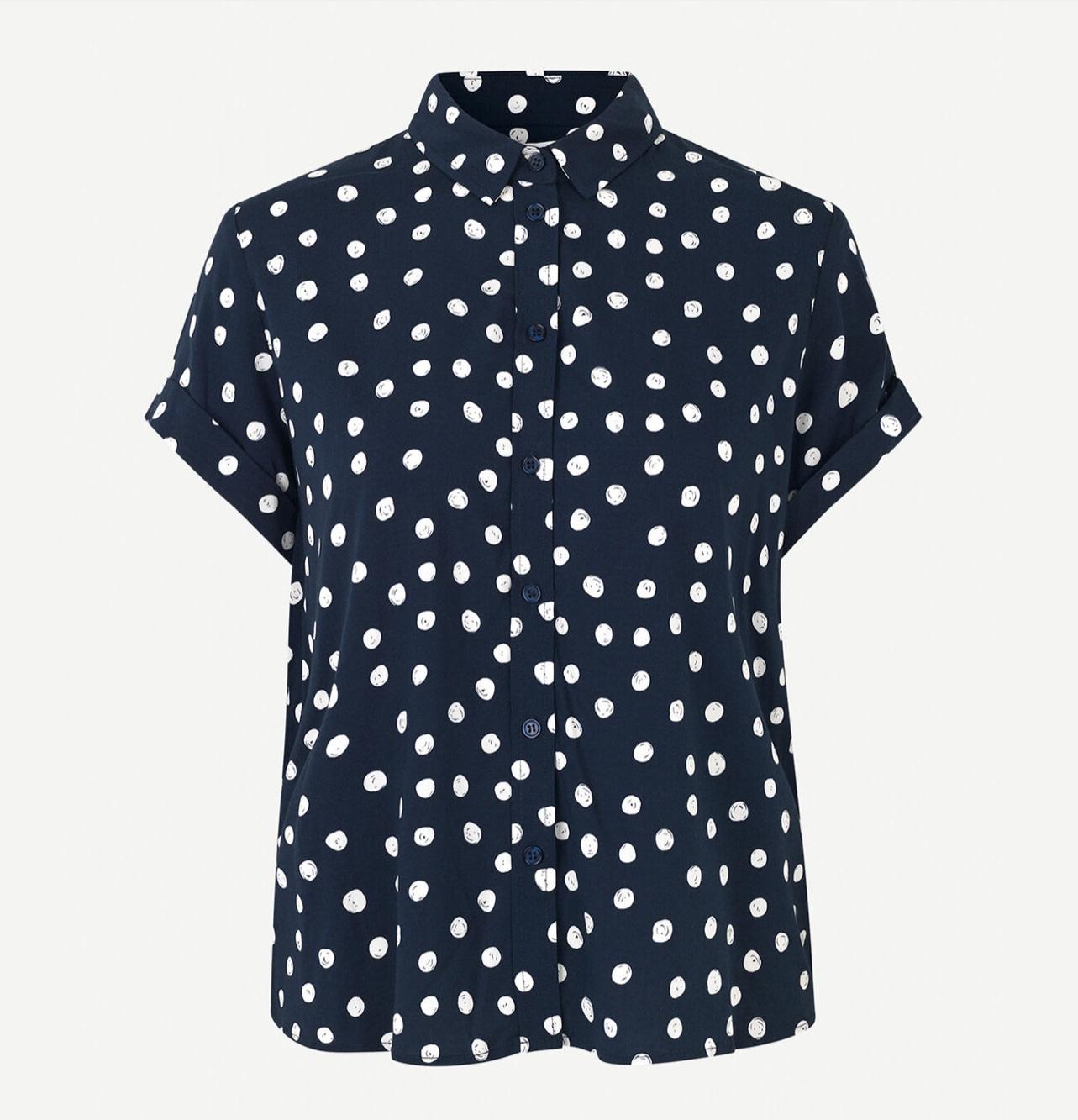 Majan ss shirt aop Samsoe Samsoe-6