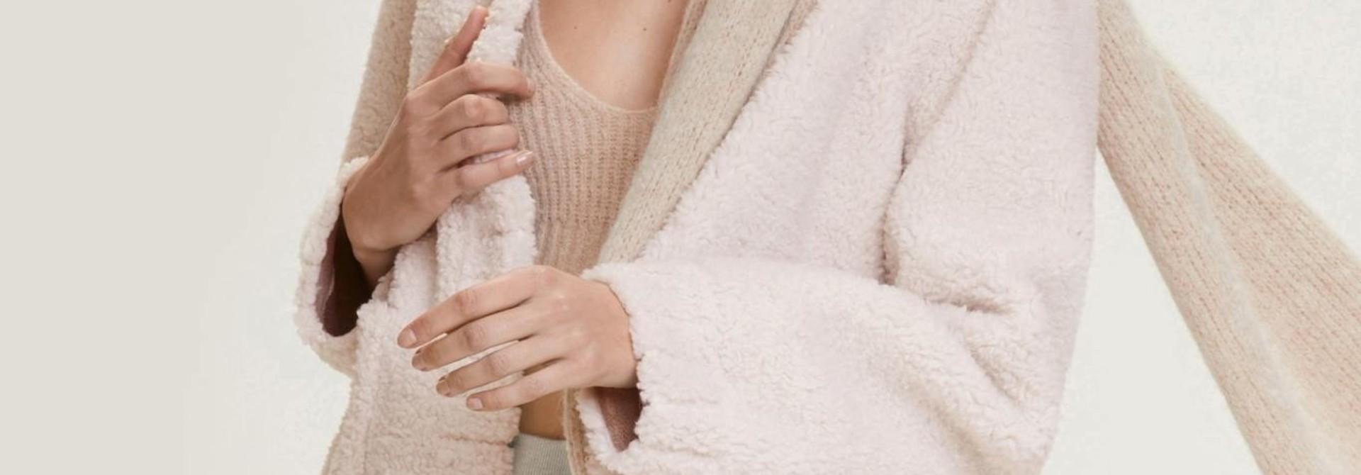 Twist On shearling jacket Dorothee Schumacher