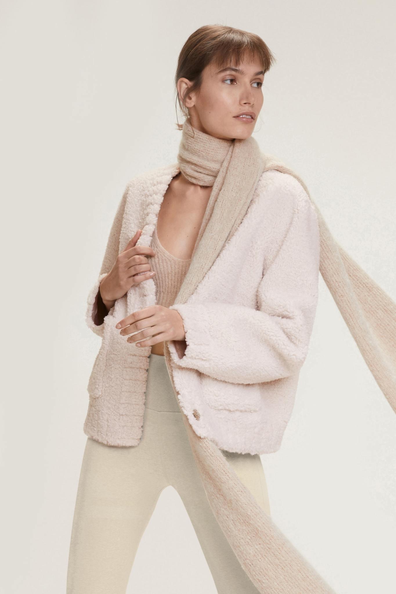 Twist On shearling jacket Dorothee Schumacher-1