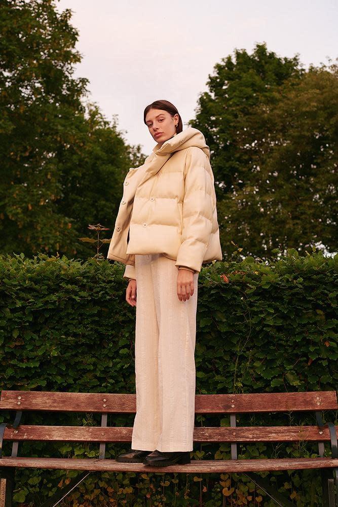 Patricia coated jacket Jakke-5