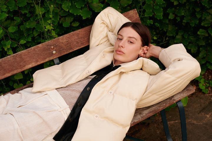 Patricia coated jacket Jakke-6