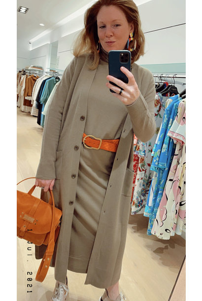 turtleneck dress Allude