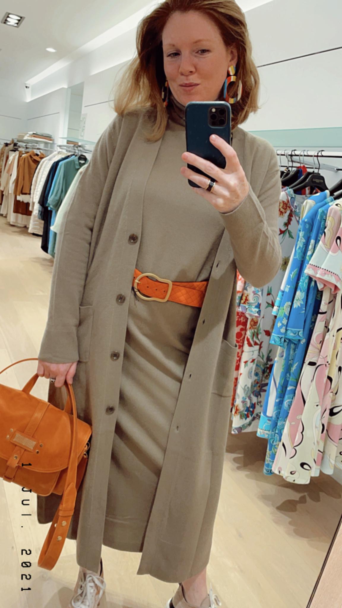 turtleneck dress Allude 17015-1