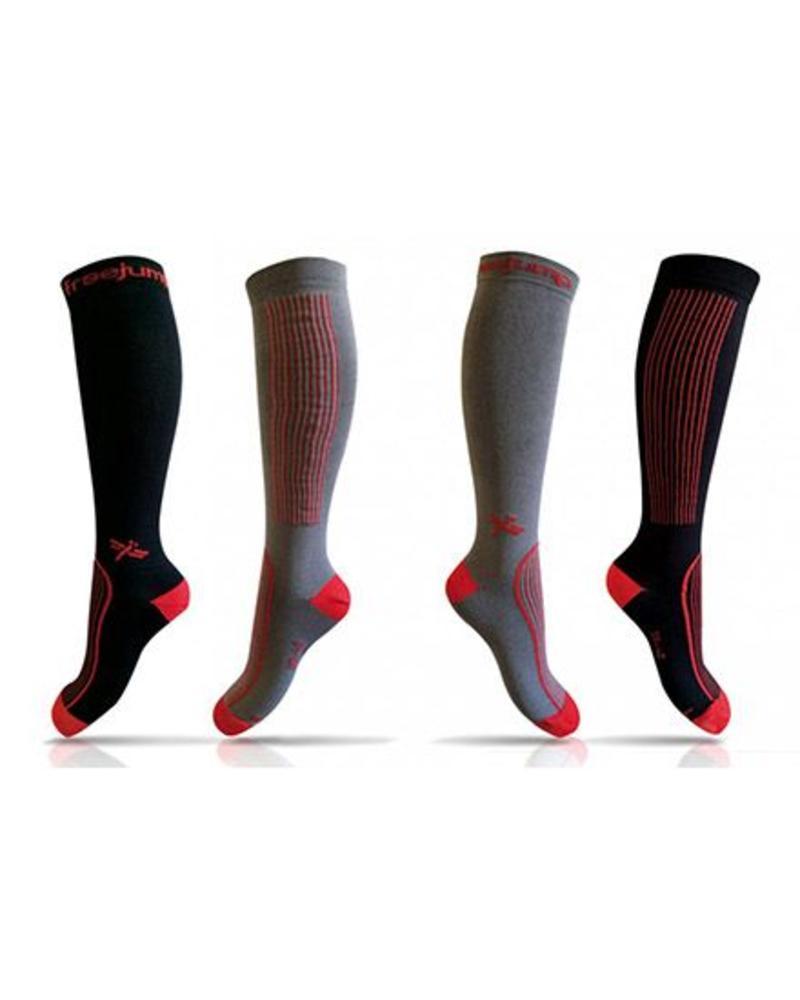 Freejump Freejump Technical Socks Black/Red