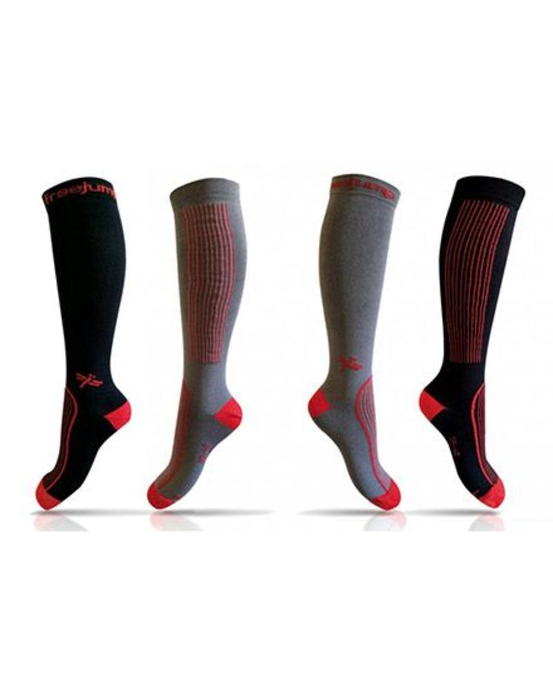 Freejump Freejump Technische sokken Zwart/Rood