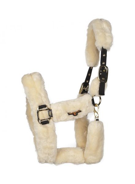 Kentucky Sheepskin Shipping Halter Naturel