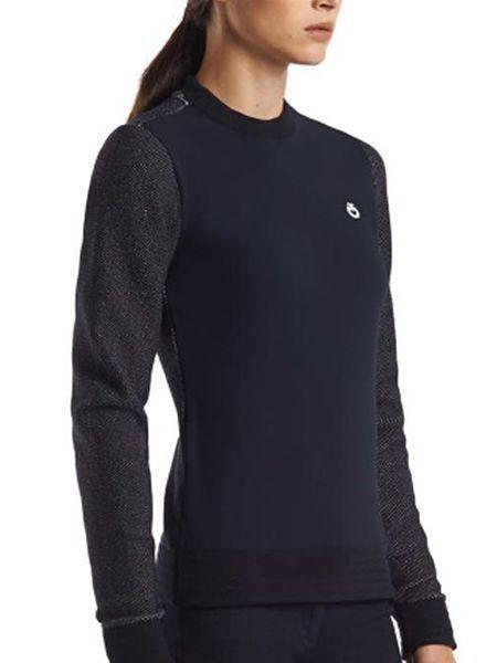 Cavalleria Toscana Mesh Knit Jersey Sweater