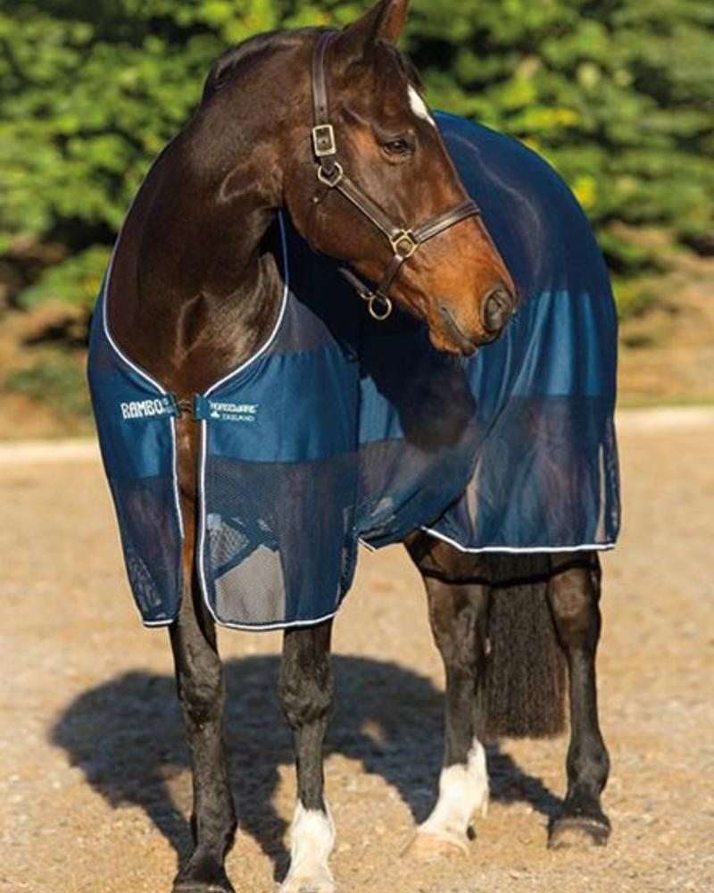 Horseware Rambo Block Net Cooler Navy