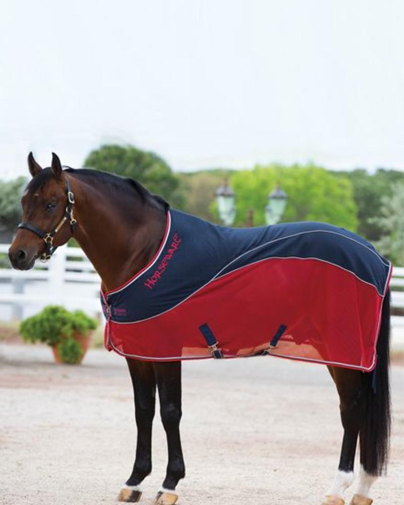 Horseware Rambo Sport Cooler Navy/Red