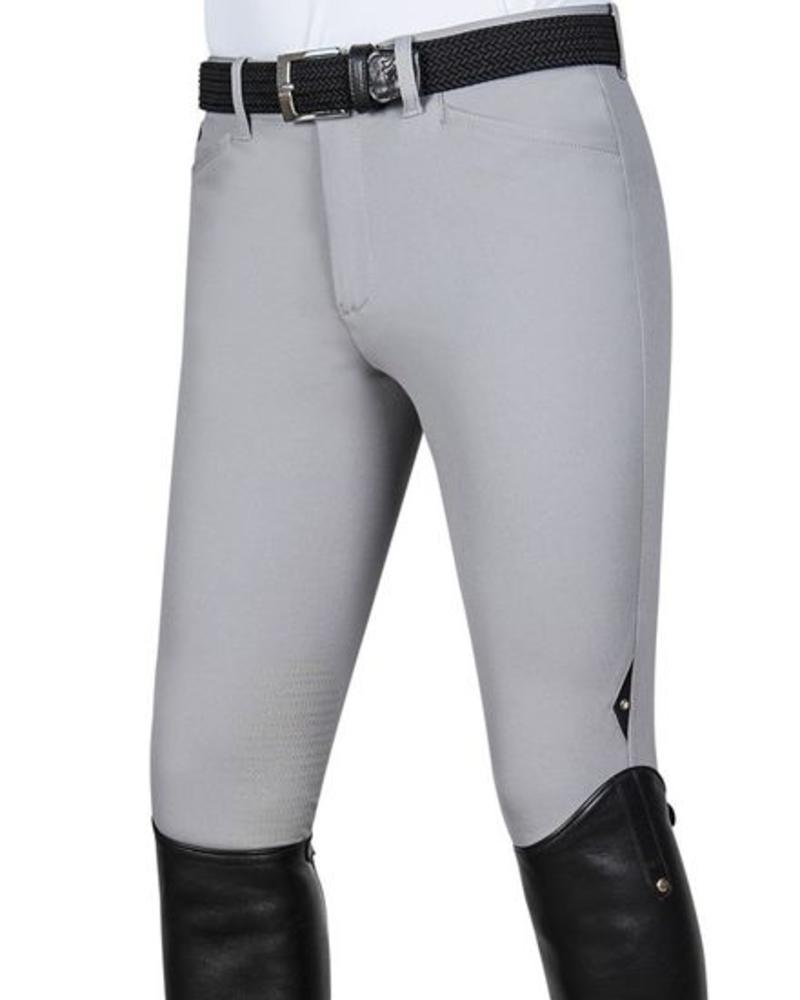 Equiline Riding Breeches X-Grip Willow Light Grey