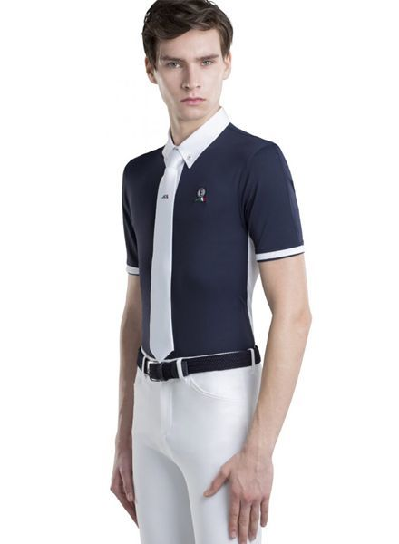 Equiline Men's Competition Polo Fox