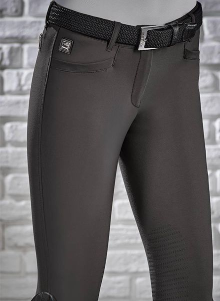 Equiline Riding Breeches X-Grip Ash Marsh