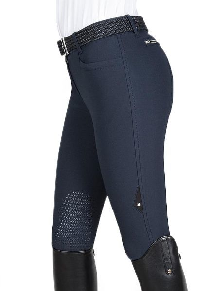 Equiline Riding Breeches X-Grip Ash Navy